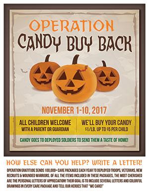2017 Candy Buy Back