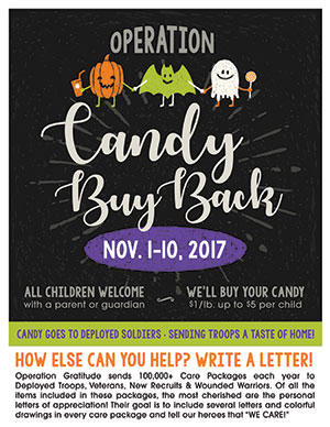 2017 Candy Buy Back
