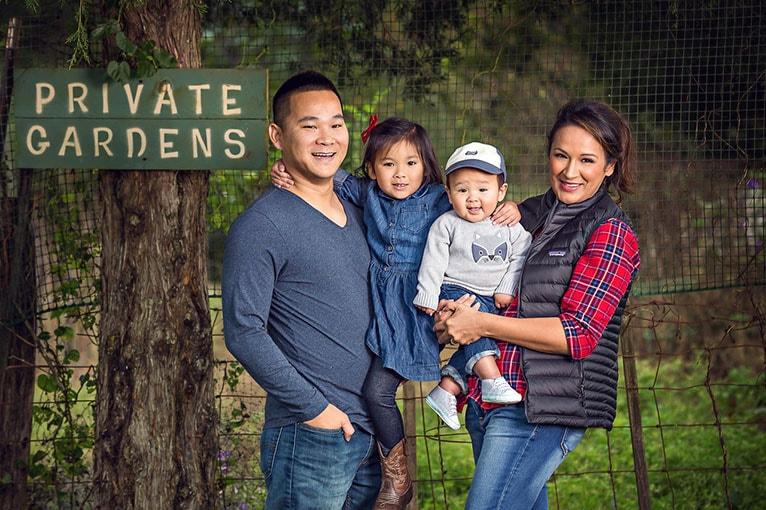 Vanxai Luangrath with his family