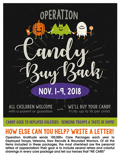 2018 Candy Buy Back