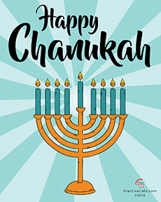 Happy Chanukah Poster