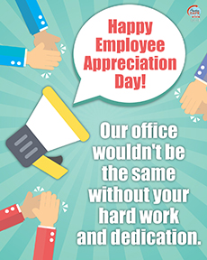 Employee Appreciation - Break Room