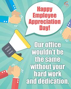 Employee Appreciation - Break Room
