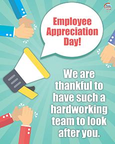 Employee Appreciation - In Office