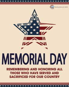 may memorial day poster practice cafe