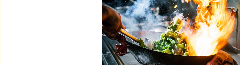 wok with stirfry