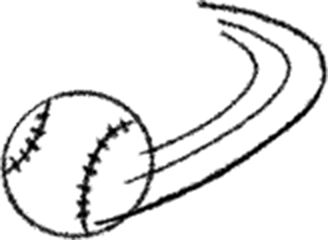 Animated baseball