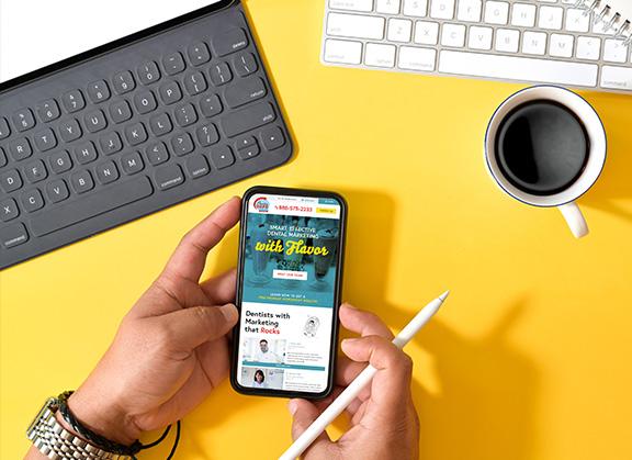 Mobile Practice Cafe Website