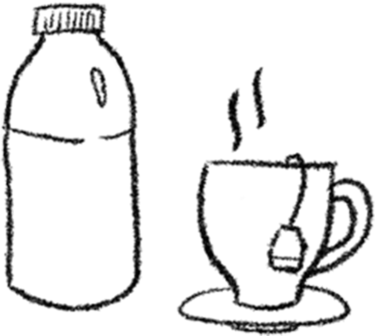 Animated tea