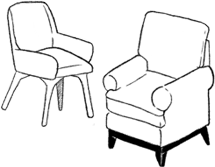 Animated chair