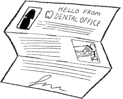 illustration of transition letter
