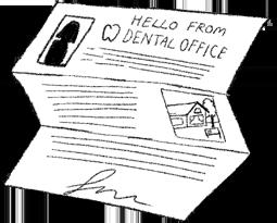 illustration of transition letter
