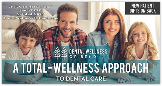 Tucker - Dental Wellness of Bend postcard front