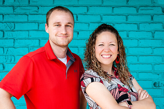 Sales Team - Angie Cannon and Jason Whitener