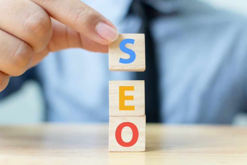 Building blocks that spell SEO